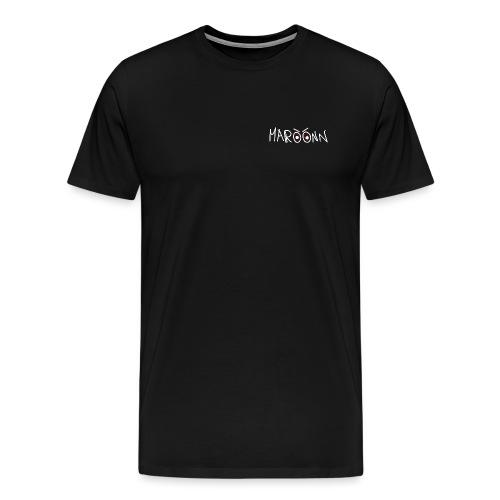 Maroon black tee Special Edition - Maglietta Premium da uomo