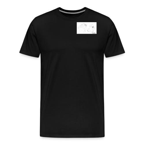 Artistic Yume - Maglietta Premium da uomo