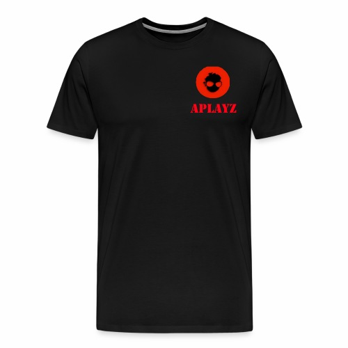 APlayzMG logo with text - Men's Premium T-Shirt