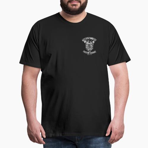 Border_logo_fuer_schwarz - Männer Premium T-Shirt