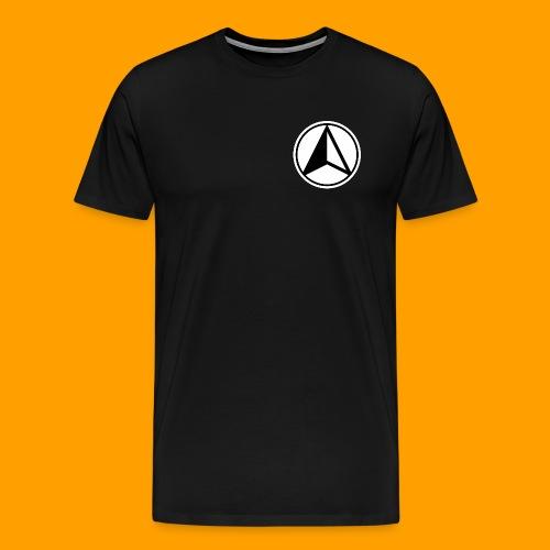 Black and White logo - Men's Premium T-Shirt
