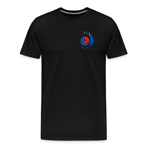 201607 Tuna Wave Logo (PADI Blue / Red PADI) - Men's Premium T-Shirt