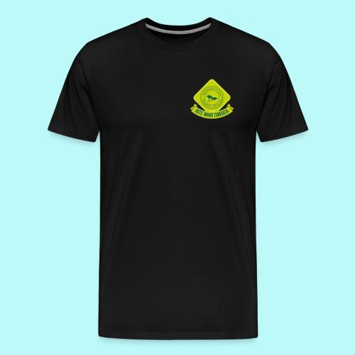 logo-vert-clair - T-shirt Premium Homme
