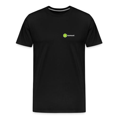 Horizontal Small Black - Männer Premium T-Shirt