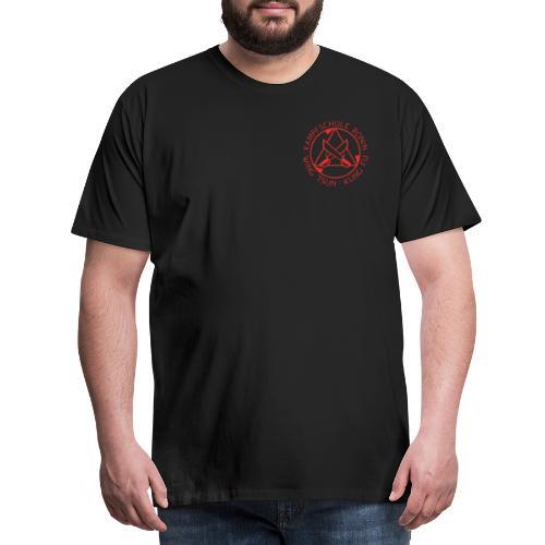 Kampfschule Ronin rot - Männer Premium T-Shirt