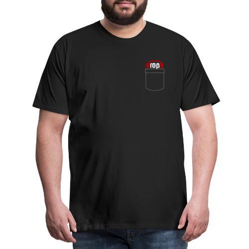 dropblayd Merch - Hemdtasche Design - Männer Premium T-Shirt