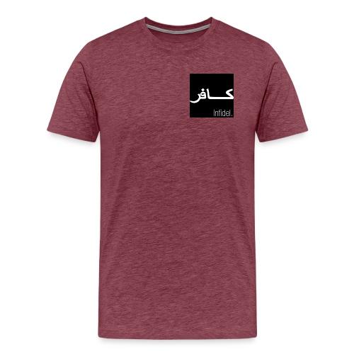 Infidel - vääräuskoinen - Miesten premium t-paita