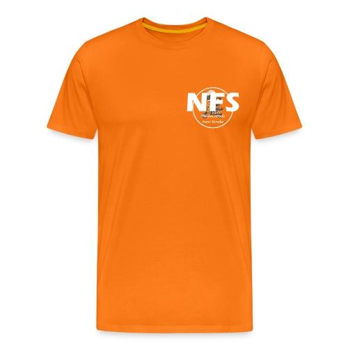 NFS logo - Mannen Premium T-shirt