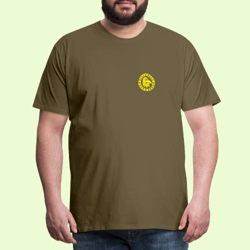 YELLOW EAGLE LOGO - Miesten premium t-paita
