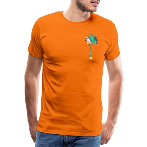 Fancy Palme 2 - Männer Premium T-Shirt