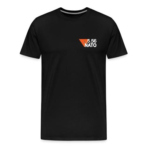 5 56 NATO BLANC png - T-shirt Premium Homme