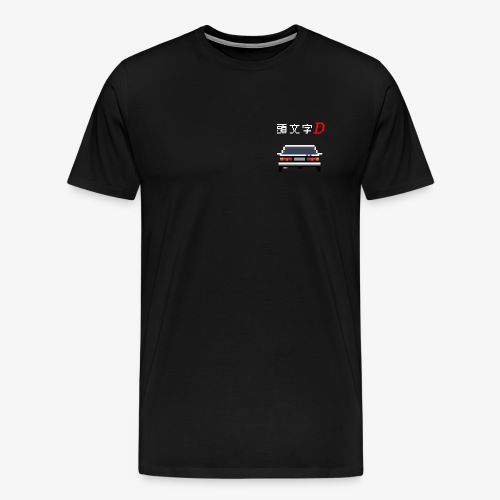 Initial D - Trueno - T-shirt Premium Homme