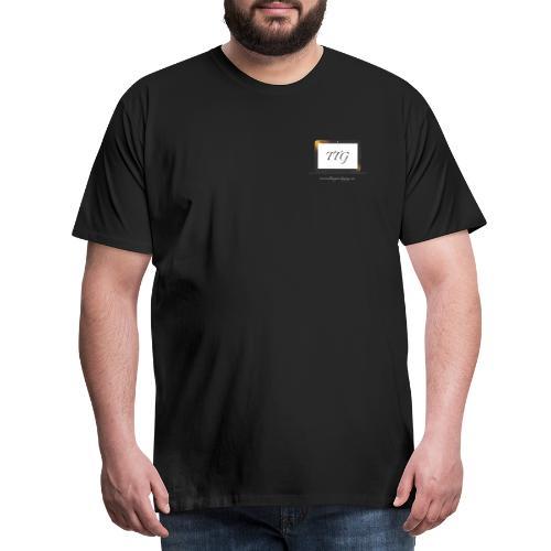 Travelling Tech Guy - Secure Tokens - Mannen Premium T-shirt