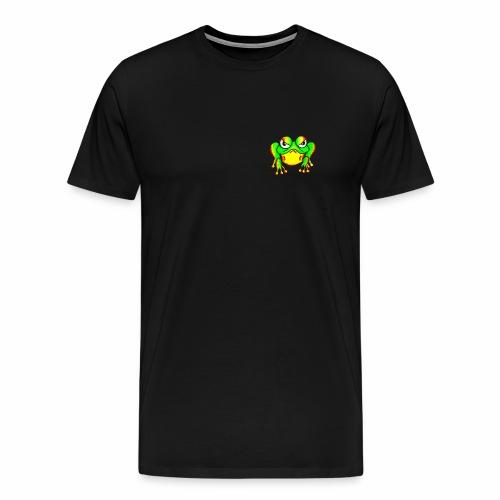 Boze kikker - Mannen Premium T-shirt