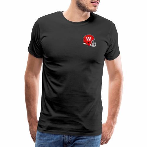 WARRIORS HELM LOGO - Männer Premium T-Shirt