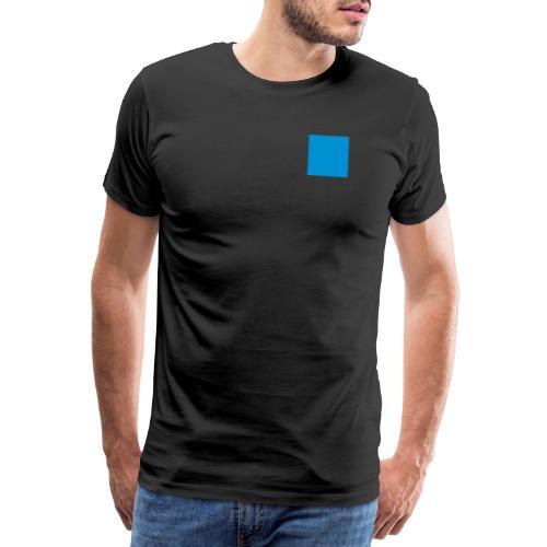 Sweat Carré Bleu - T-shirt Premium Homme