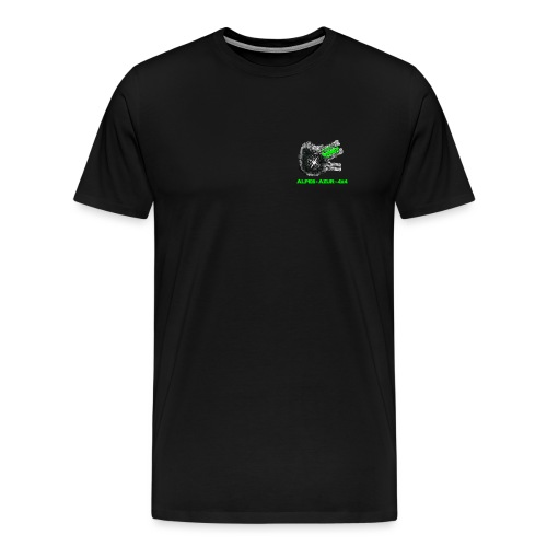 logo ALPES-AZUR-4X4 - T-shirt Premium Homme