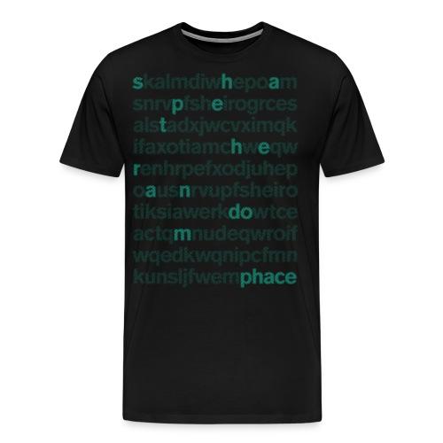 STR Tee png - Men's Premium T-Shirt