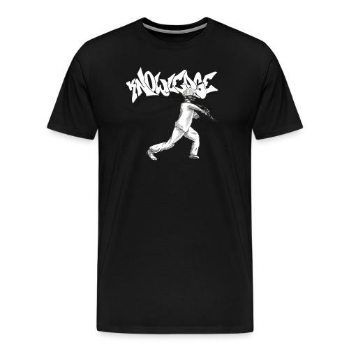 Knowledge 4 - Männer Premium T-Shirt