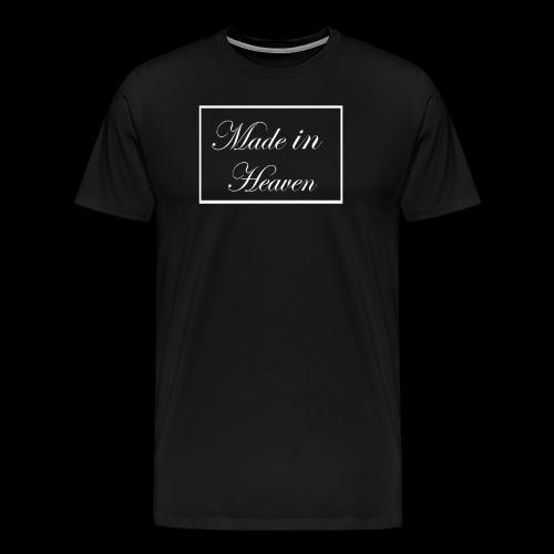 Made in Heaven Logo - Men's Premium T-Shirt