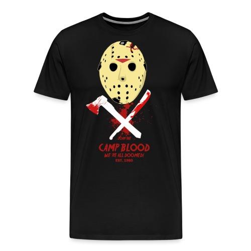 Camp Blood Shirt - Männer Premium T-Shirt