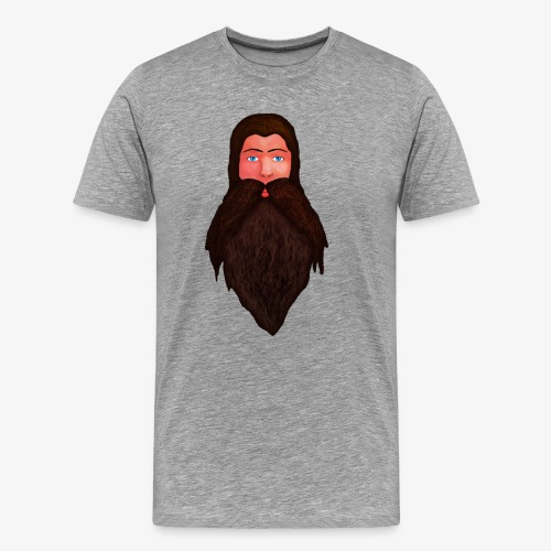 Tête de nain - T-shirt Premium Homme