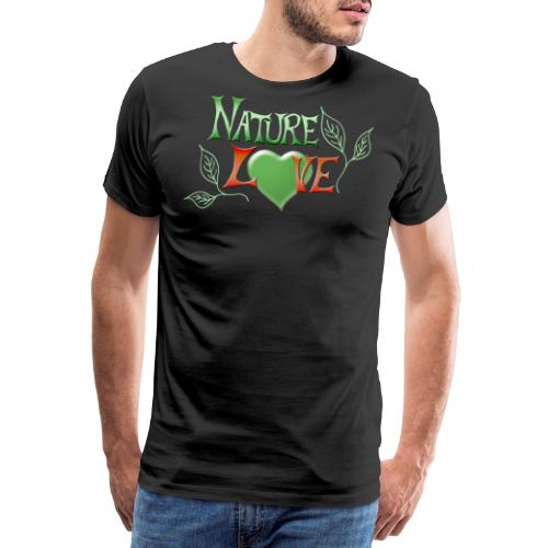 Nature Love - Männer Premium T-Shirt