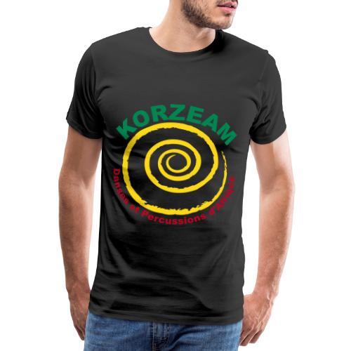Korzeam Logo Tricolore - T-shirt Premium Homme