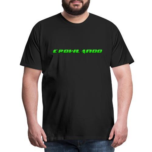 Crowlando design - Men's Premium T-Shirt