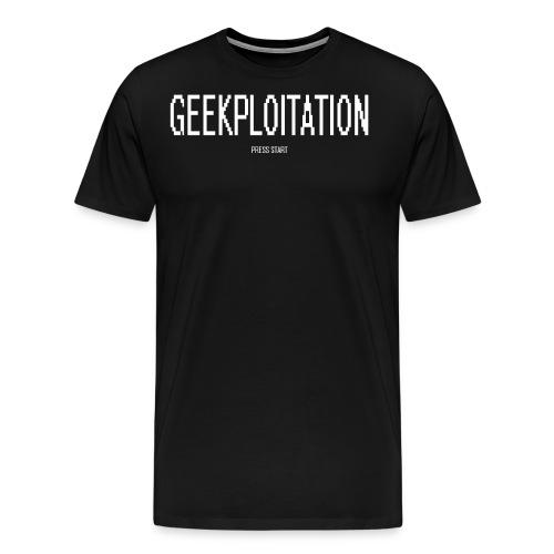 press start png - Men's Premium T-Shirt