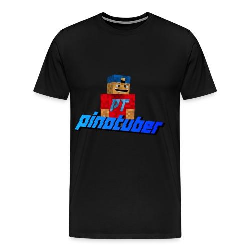 Pinotuber Minecraft - Mannen Premium T-shirt