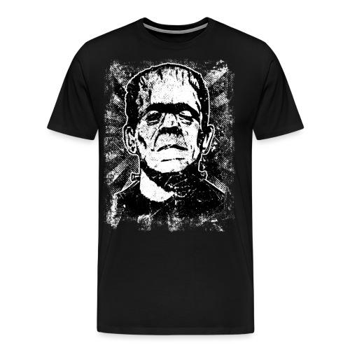 Boris Karloff/Frankenstein vintage sw - Männer Premium T-Shirt