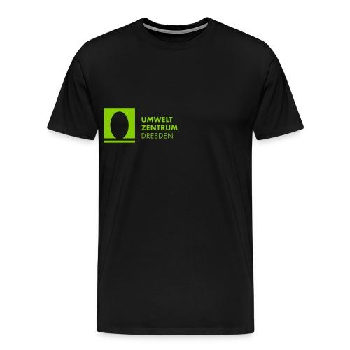 UZ-Logo-h-Schwarz - Männer Premium T-Shirt