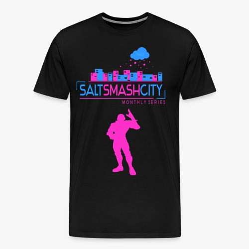 Salt Smash City Gay Falcon 3 png - Männer Premium T-Shirt