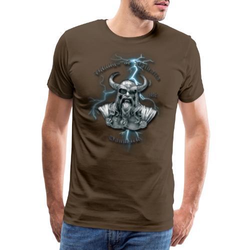 Fuld ryg lyn png - Herre premium T-shirt