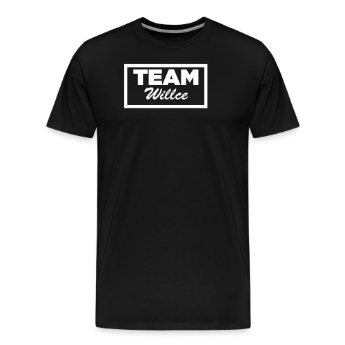 Team willce merch white - Premium-T-shirt herr