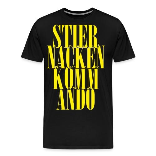 stiernackenkommandog png - Men's Premium T-Shirt