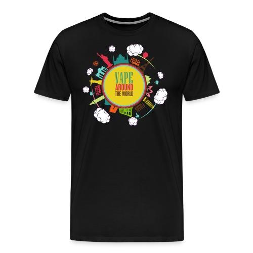arondworld2 png - T-shirt Premium Homme
