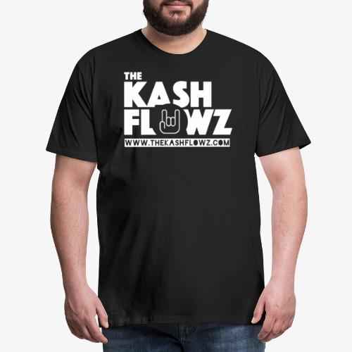 The Kash Flowz Official Web Site White - T-shirt Premium Homme