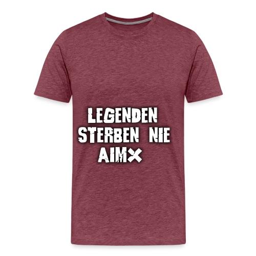 Legenden sterben nie - Männer Premium T-Shirt