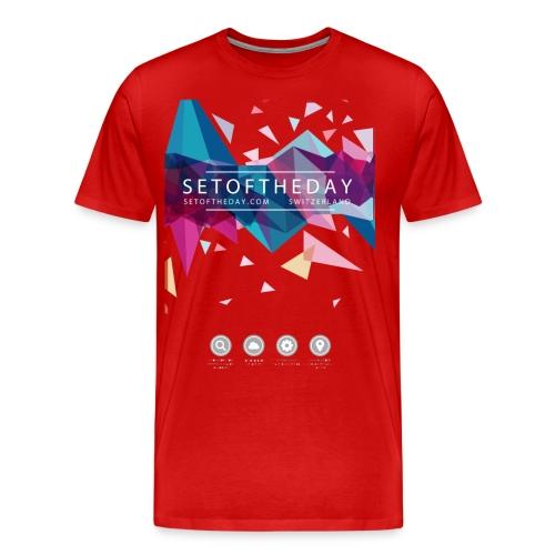 A4 shirt png - Männer Premium T-Shirt
