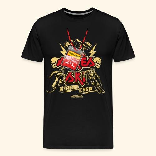 Apres Ski T Shirt Apres Ski Xtreme Crew - Männer Premium T-Shirt