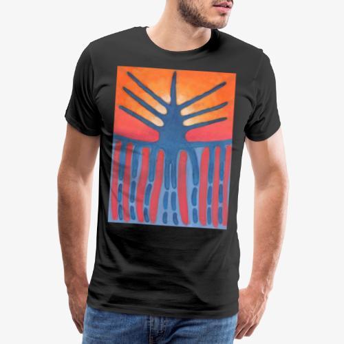 drzewo prehistoryczne 1 - Koszulka męska Premium