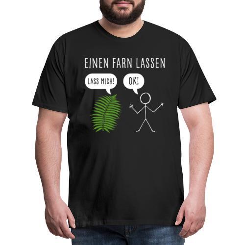 Lustiges Pupsen Furzen Shirt Geschenk witzig - Männer Premium T-Shirt