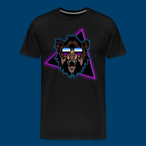 Grizzly 80's - Men's Premium T-Shirt