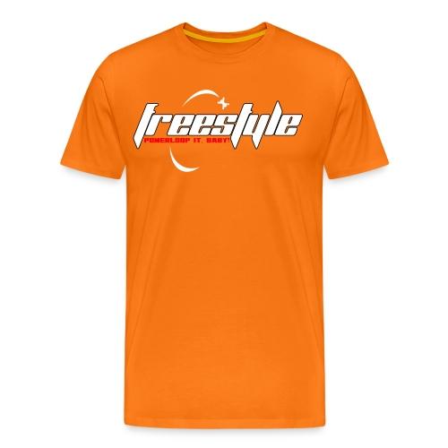 Freestyle - Powerlooping, baby! - Men's Premium T-Shirt