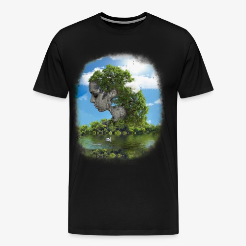Land of Id - Premium-T-shirt herr