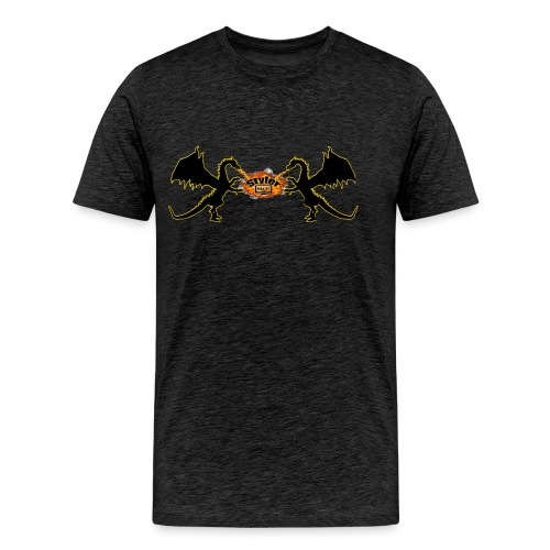 Styler Draken Design - Mannen Premium T-shirt