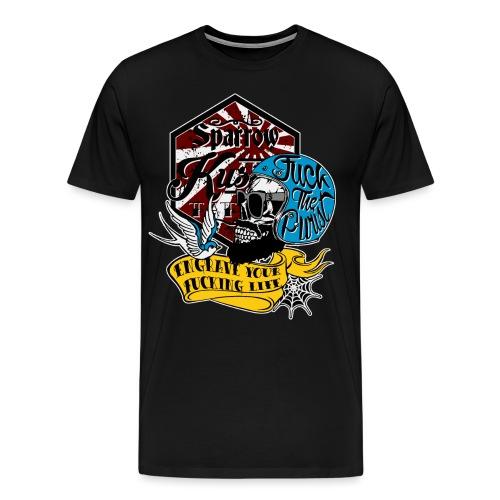 Fuck-the-purist-LOGO-ok - T-shirt Premium Homme