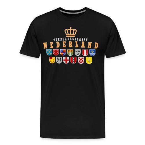 zwartachter png - Mannen Premium T-shirt